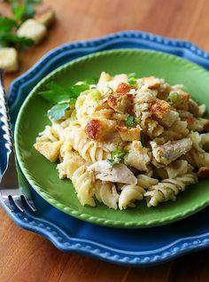 Chicken Caesar Pasta Casserole Recipe
