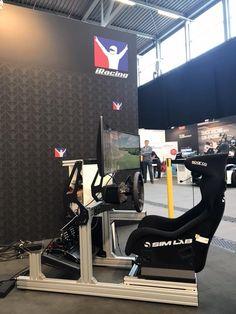 Racing Seats, Racing Wheel, Forza Xbox One, Game Room Furniture, Man Cave Room, Instagram Wall, Racing Simulator, Pc Setup, Dream Rooms