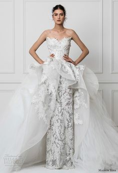 Maison Yeya 2017 Wedding Dresses