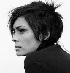 The Short Pixie Cut - 58 Great Haircuts You'll See for 2019 - Hairstyles Trends Little Girls Pixie Cut, Little Girls Pixie Haircuts, Girl Haircuts, Little Girl Hairstyles, Cute Ponytail Hairstyles, Cute Ponytails, Hairstyles With Bangs, Trendy Hairstyles, Hairdos