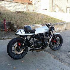 old school Honda Cafe Racer