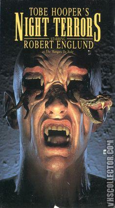 Night Terrors ** directed by Tobe Hooper 1980s Horror Movies, Classic Horror Movies, Horror Films, Scary Movies, Horror Pictures, Creepy Pictures, Horror Fiction, Night Terror, Scary Art