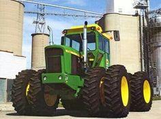 John Deere 7520 FWD Kinze Repower