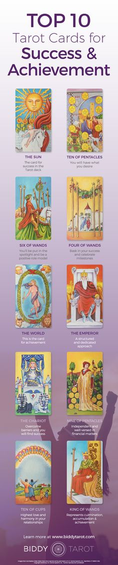 The climb to the top of the mountain is almost over! When these #Tarot cards appear, #success is on the way! Download your free copy of my Top 10 Tarot Cards for love, finances, career, life purpose and so much more at https://www.biddytarot.com/top-ten-cards-ebook/ It's my gift to you!