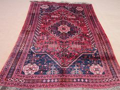 25%SALE Size:8 ft by 5.7 ft Handmade Rug Vintage by Carpetsmall