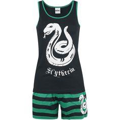 L tai XL / Slytherin Stripes - Pyjama - Harry Potter
