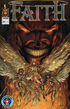CE Publishing presents to you Steve Zyskowski's Faith #1, a Lightning Comics revival! Here's an amazing tale of action and adventure brought back from the past! Angels and demons in physical bodies dueling it out to the death. Or at least the demons can. Faith is thrown into this brave new world of miracles and newfound mission from God as she is chosen to protect and preserve even those that would do her harm. CE Publishing Gives you MORE!