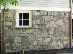 new england style stone foundation - Google Search