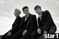 Sechs Kies Jaejin, Ji Won, Jae Duk