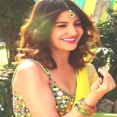 PIC: Anushka Sharma dressed up in a bridal wear for the ad film