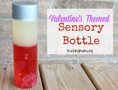 For the past 4 months, I've been sharing our sensory bottles I've created for my baby. This month's sensory bottle has a heart theme, since Valentine's Day is just around the corner! I loved this sensory bottle. We added oil to the water, which made the hearts inside move slowly and clump together. It really …