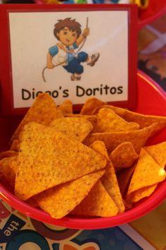 Diego's Doritos - Dora party