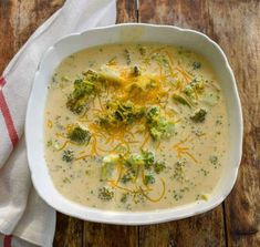My keto broccoli cheese slow cooker soup is easy, low in carbs, gluten-free and thickened with only cheesy goodness. It's a rich thick low carb broccoli cheese soup that everyone will enjoy. Today, I…More 25 Indulgent Keto Friendly Crockpot Ideas Keto Crockpot Recipes, Slow Cooker Recipes, Cooking Recipes, Healthy Recipes, Crockpot Ideas, Keto Broccoli Cheese Soup, Broccoli Soup Recipes, Keto Soup, Raw Broccoli