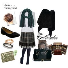"""Claire . . . reimagined"" by tababylon on Polyvore"
