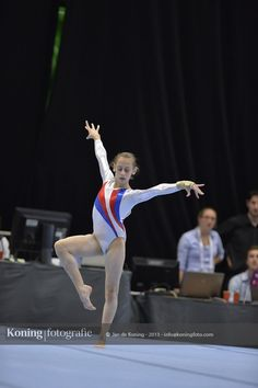 Jeugd Olympische Spelen Utrecht 2013 Teamcompetitie Turnen Dames Wedstrijd 4 Deel III | Jan de Koning Fotografie