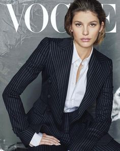 Camila Morrone Suits Up for Vogue Latin America