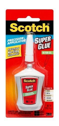 Scotch(R) Precision Applicator Super Glue AD125
