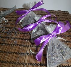 DIY Zrób to sam!  Jak zrobić lawendowe saszetki / zawieszki na mole z lawendą?