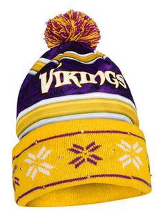 e1ee9eeb2 Vikings Light Up Knit Hat Beanies