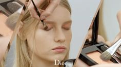 Makeup at the Dior couture Autumn-Winter 2015-2016 fashion show. More on Diormag.com