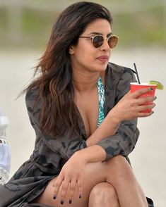 Bollywood Gals: Priyanka Chopra in bikini in Miami Indian Celebrities, Bollywood Celebrities, Beautiful Celebrities, Beautiful Actresses, Actress Priyanka Chopra, Priyanka Chopra Hot, Bollywood Actress Hot, Indian Bollywood, Nick Jonas