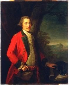 Captain James Cunningham, 45th Regiment of Foot 1775 by Angelica Kauffman