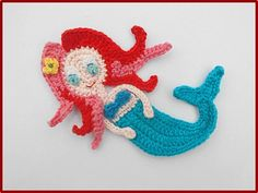 Meerjungfrau+von+Efeu_Creations+auf+DaWanda.com