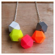 perfect for summer neon necklace - LOVE!