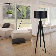 Dundee, Tripod Lampe, Black Floor Lamp, Brass Lamp, Apartment Interior Design, Chrome, Bulb, Lights, Color Temperature