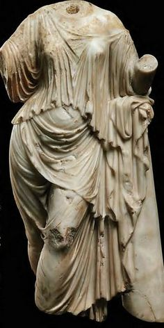Roman marble Aphrodite - circa 1st-2nd c AD - at the Christie's collection, London