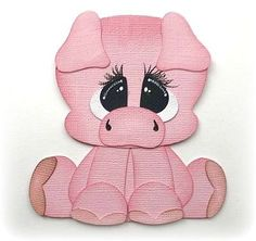 Pig Farm Animal Premade Paper Piecing 3D Die Cut Mytb Kira For Scrapbooking