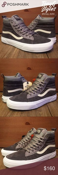 Italia 2018,2017 Uomo Vans Old Skool MTE Nero Tweed