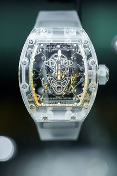 Richard Mille previewed the Tourbillon RM 56-02 Sapphire at Watches & Wonders this year, and we finally got our hands on the new sapphire watch at SIHH...