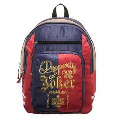 e2141488ca12 Suicide Squad Harley Quinn Property of Joker Backpack - Preorder
