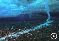 Brinicle in Antarctic waters...