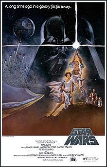 Star Wars 1977 (Mark Hamill, Harrison Ford, Carrie Fisher) Luke Skywalker leaves his home planet, teams up with other rebels, and tries to save Princess Leia from the evil clutches of Darth Vader. Star Wars Film, Star Wars Poster, Star Wars Episódio Iv, Poster S, Print Poster, Iconic Movie Posters, Iconic Movies, Great Movies, Imdb Movies