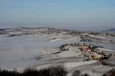 Fog over the hill by duepadroni, via Flickr