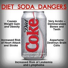 Diet Soda Dangers.