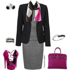 OFF TO THE OFFICE!!! by marion-fashionista-diva-miller on Polyvore