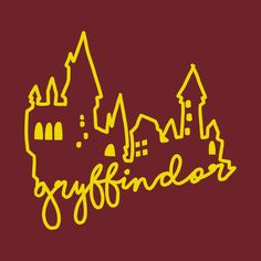 Check out this awesome 'Hogwarts+Castle+Gryffindor' design on Harry Potter Houses, Harry Potter Theme, Harry Potter Aesthetic, Harry Potter Cast, Hogwarts Houses, Harry Potter World, Harry Potter Background, Yer A Wizard Harry, Harry Potter Collection