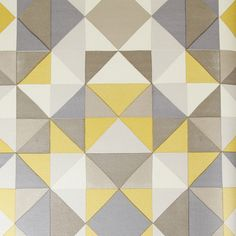 Create a striking feature wall with this Bold Cubism wallpaper from Mariska Meijers. Reflecting the early 20th century avant-garde art movement it features a vivid triangular geometric pattern. Thi...