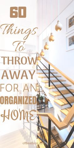 There are plenty of organization ideas to help you have an organized home. But, there are some things which you should throw away if you really want a perfectly organized home as these things occupy unnecessary space and clutter your house. Throwing away Organisation Hacks, Small Space Organization, Clutter Organization, Kitchen Organization, Bedroom Organization, Konmari, Vie Simple, Declutter Your Life, Home Budget