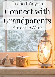 Are you feeling disconnected from your family during this pandemic? If so, then you will love these tips. These are the best way for kids to connect with their grandparents who live miles away! This great advice will help you and your kids stay close to the ones you love most. #family #connect #pandemic #parenting #grandparents