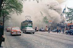 Tulipalo Mannerheimintiellä 1969