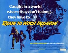 Image result for escape to witch mountain poster