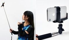 japanese selfie stick invention