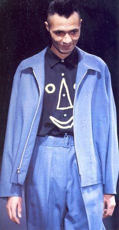 """ Yohji Yamamoto Menswear Fall/Winter 1991 """