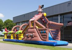 Europes largest manufacturer of giant inflatables.