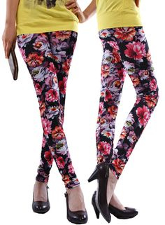 Free Shipping Fashion Personality Flower Tight 9 Minutes