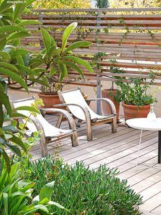 Le Jardin Riad - Piscine béton - SLOWGARDEN Outdoor Furniture, Outdoor Decor, Sun Lounger, Landscape Design, Patio, Fences, Home Decor, Gardens, Exotic